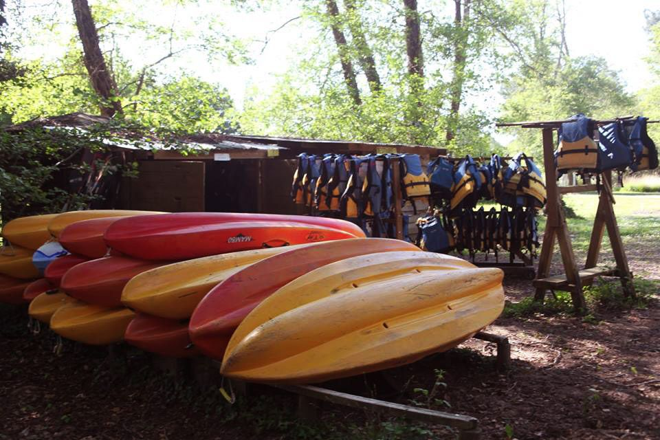 Les canoës kayak