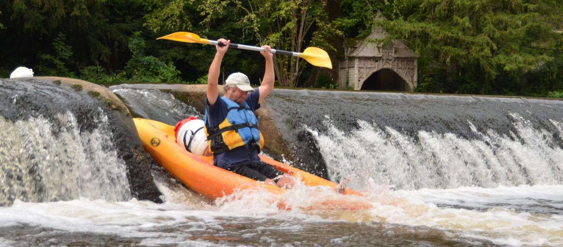 La balade en canoë kayak dans les Landes
